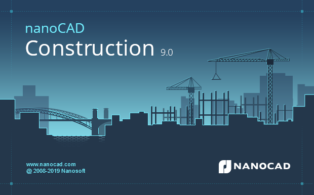 nanoCAD Construction 9.0: a new version of CAD for construction engineers